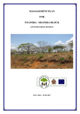 FMA Machinga Ntawira - Mlomba Block