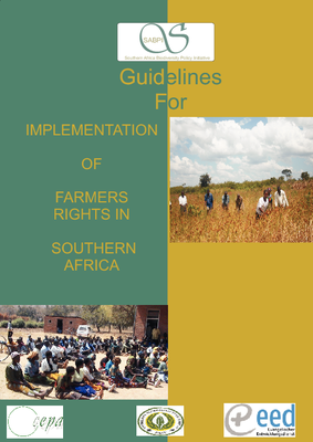 Guidelines for Implementation of Farmers Rights in Southern Africa