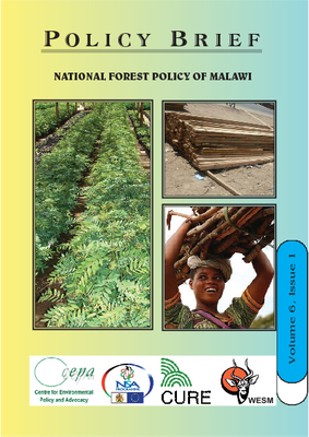 Policy Brief on the National Forestry Policy of Malawi