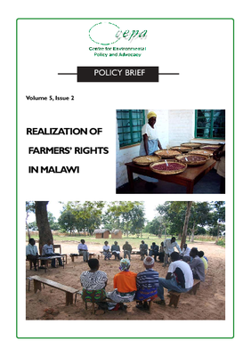 Realization of Farmers Rights in Malawi