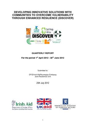 CEPA ECRP DISCOVER Advocacy Report - Year 2 Quarter 1