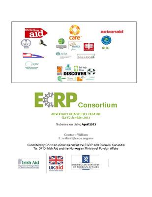 CEPA ECRP DISCOVER Advocacy Report - Year 2 Quarter 2