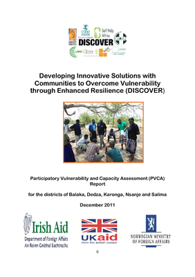 DISCOVER Participatory Vulnerability and Capacity Assessment Report