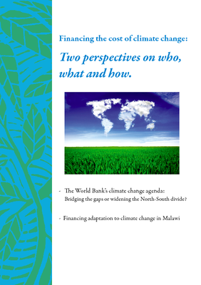Financing the Cost of Climate Change - Two perspectives on who, what, and how