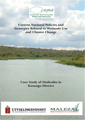 Policy Brief on the Current National Policies and Strategies Related to Wetlands Use and Climate Change