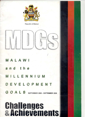 Malawi and the Millennium Development Goals- Challenges and Achievements