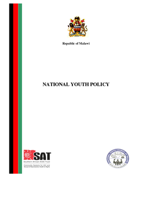 National Youth Policy 2013