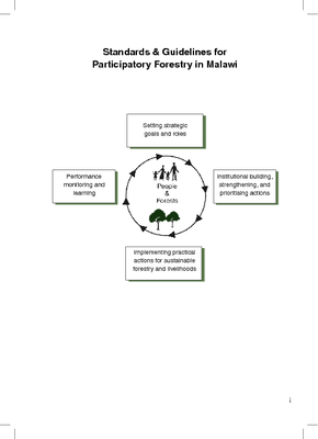 Standards and Guidelines for Participatory Forestry in Malawi
