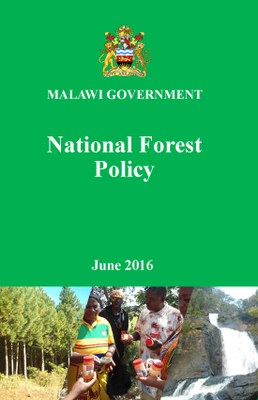 Malawi Government - National Forest Policy: June 2016