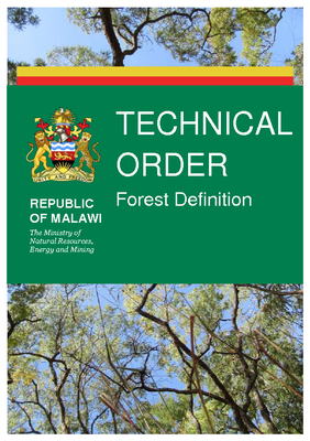 Technical Order: Forest Definition