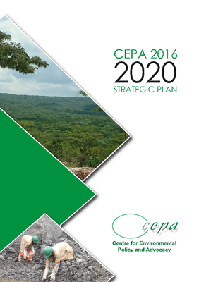 CEPA Strategic Plan 2016-2020