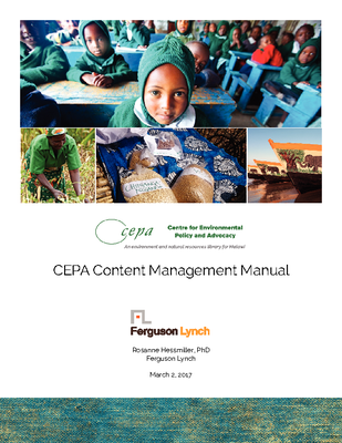 How To Add Content to CEPA Library